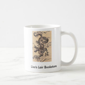 Chinese Dragon Bookstore Promo Classic White Coffee Mug