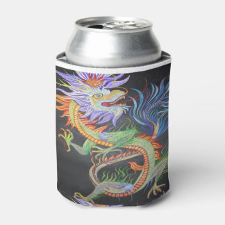 Chinese Dragon Can Cooler
