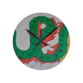 Chinese Dragon Clocks