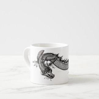 Chinese Dragon | Customizable Espresso Mugs