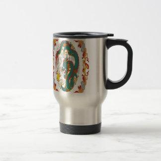 Chinese dragon design coffee mug