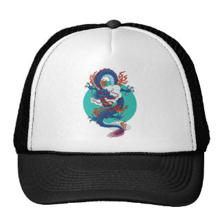 Chinese Dragon Trucker Hat