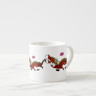Chinese Dragon II Espresso Mug