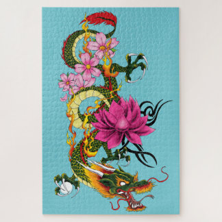 Chinese Dragon Jigsaw Puzzle
