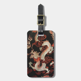 Chinese Dragon Luggage Tag