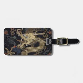 Chinese Dragon Luggage Tag