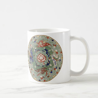 Chinese Dragon Medallion Mug