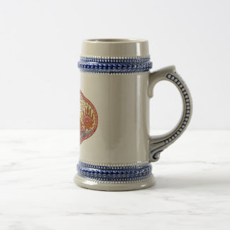 Chinese Dragon Medallion Beer Steins