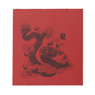 Chinese Dragon Notepad