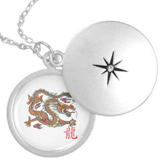 Chinese Dragon on Locket
