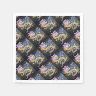 Chinese Dragon Paper Napkin