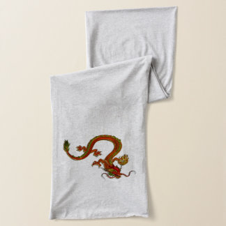 Chinese dragon scarf