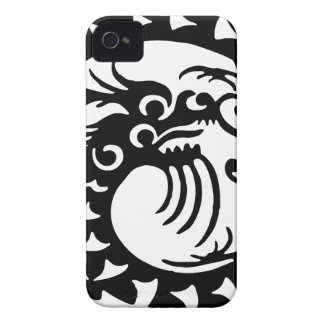 Chinese Dragon Silhouette Case-Mate iPhone 4 Case