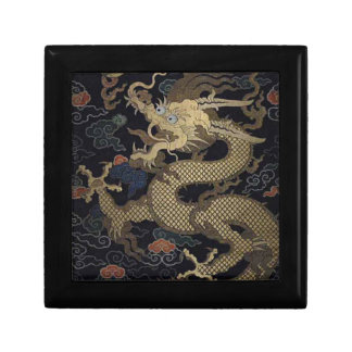 Chinese Dragon Small Square Gift Box