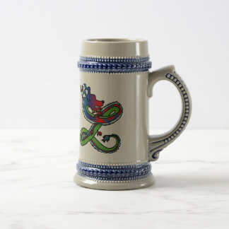 Chinese Dragon Stein Mug