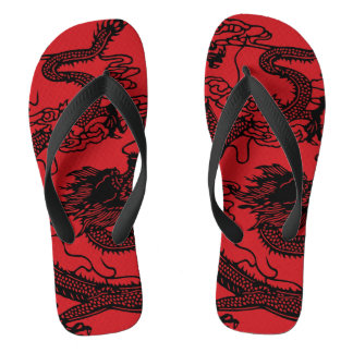 Chinese Dragon Thongs