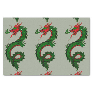 Chinese dragon tissue paper