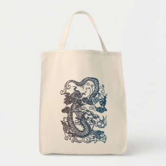 Chinese Dragon Tote