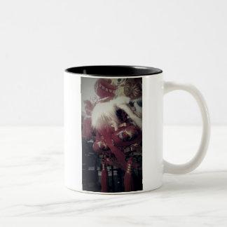 Chinese Dragon Two-Tone Coffee Mug