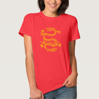 Chinese Dragon Women's T-Shirt (Red)