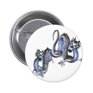 Chinese Dragons Button