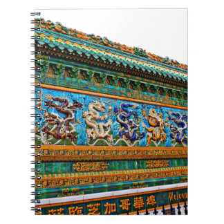 Chinese Dragons Note Book