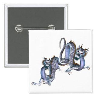 Chinese Dragons Pin