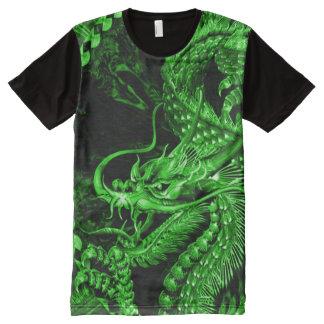 Chinese Fantasy Jade Emperor Dragon Art All-Over Print T-Shirt