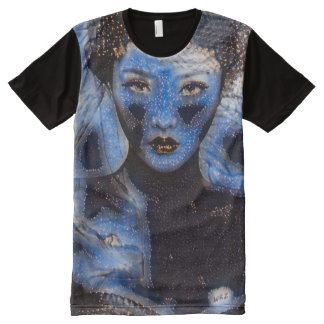 Chinese Female Eight Immortals Fantasy Art All-Over Print T-Shirt