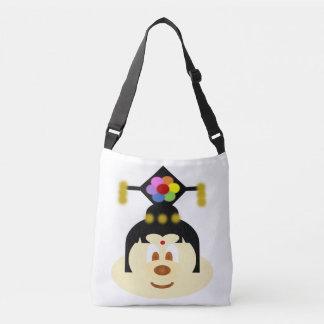 Chinese Female Hat 鮑 鮑 Tote Bag