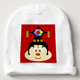 Chinese Female Hat 鲍 鲍 Baby Cotton Beanie Baby Beanie