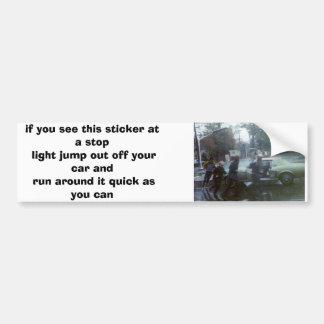 chinese fire drill bumper sticker