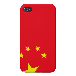Chinese Flag iPhone 4 Covers