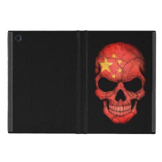 Chinese Flag Skull on Black iPad Mini Case