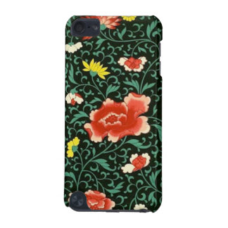 Chinese floral green iPod  case