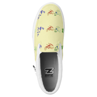 Chinese Folk Designs Slip On Shoes