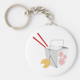 Chinese Food Container Key Ring