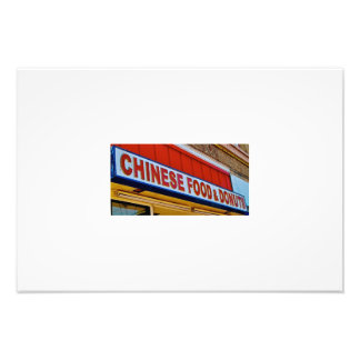 Chinese Food & Donuts Photo