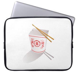 Chinese Food Laptop Sleeves