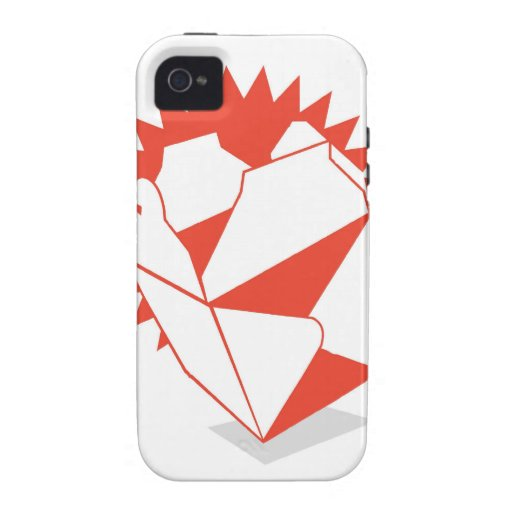 Chinese Food Takeout Box Vibe iPhone 4 Cases