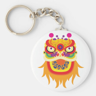 Chinese Fortune Character Keychain