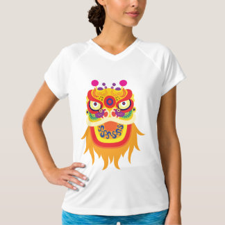 Chinese Fortune Character Womens Active Tee