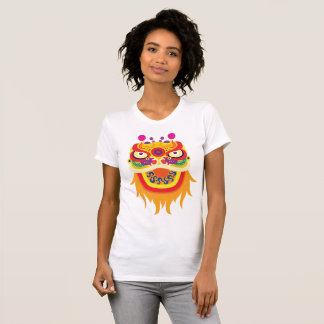 Chinese Fortune Character Womens T-Shirt