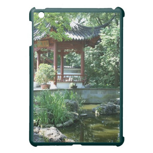 Chinese Garden Case For The iPad Mini