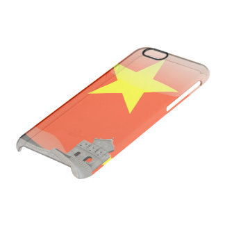 Chinese glossy flag clear iPhone 6/6S case