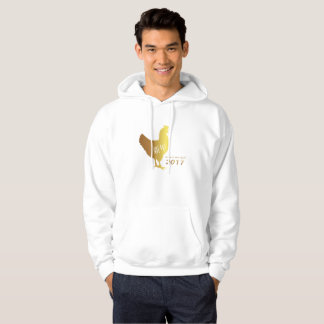 Chinese Gold Rooster New Year 2017 Hoodie