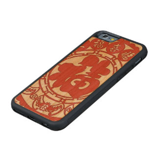 """""""Chinese Good Luck Phone Case"""" Cherry iPhone 6 Bumper Case"""