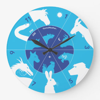Chinese Hours - Chinese zodiac Wall Clock