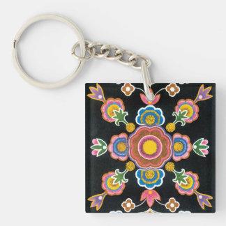 Chinese Kazakh Design 06 Key Ring