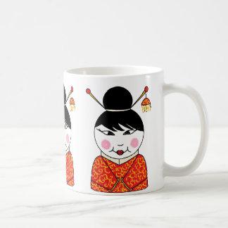 Chinese lady mug